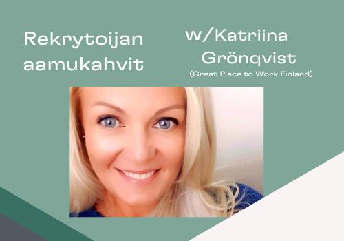 Marbles Aamukahvit Katriina Grönqvist